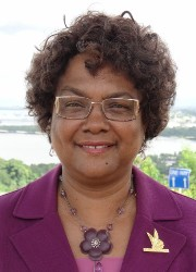 Rev. Dr. Pearl Rivers, Chairman, Board of Directors of WIST